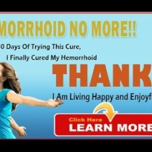 Hemorrhoid no more Jessica Wright