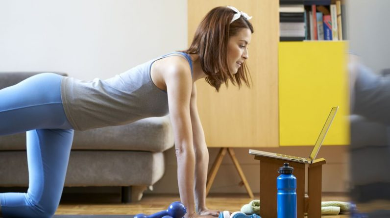 Health  weight loss fitness news  Workout apps and YouTube channels for when you can't leave the house