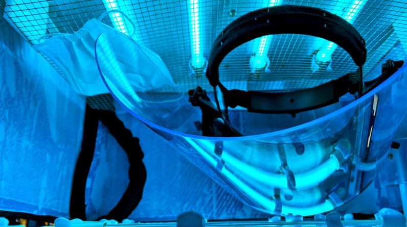 Health Supplements Portable UV chambers could disinfect PPE anywhere