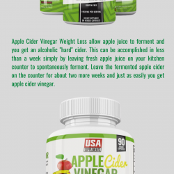 Health Supplements Apple Cider Vinegar Weight Loss